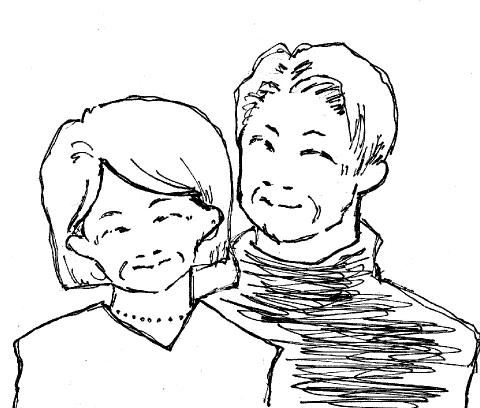 50代後半夫婦(前立腺がん)